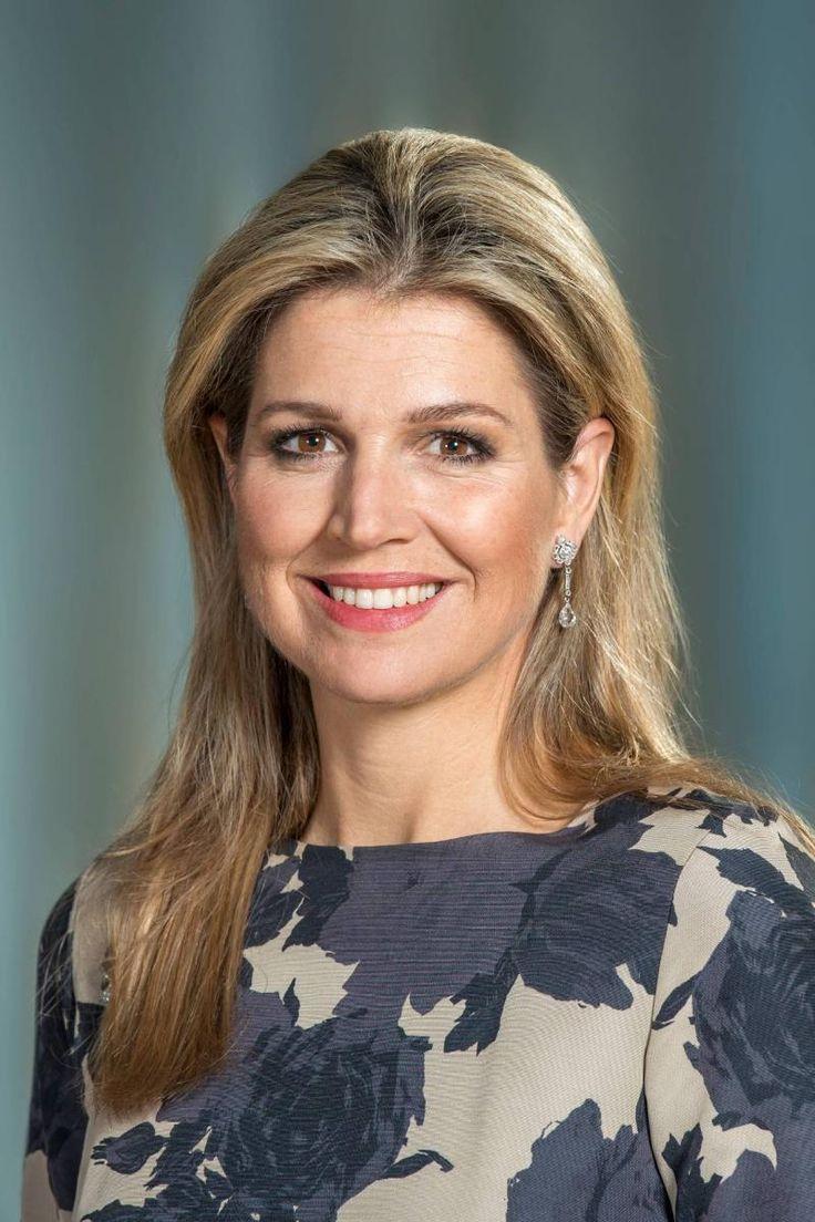 Nieuwe portretten koningin Máxima | ModekoninginMaxima.nl