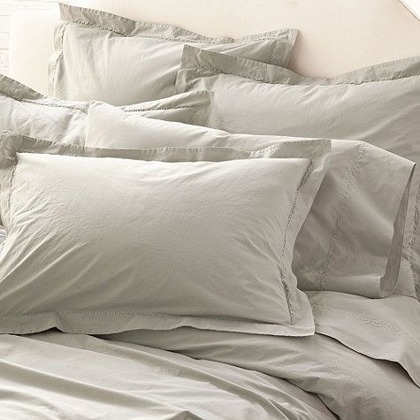 Washed Percale Bedding, available at ballarddesigns.com: Ballarddesigns Com, Bedroom Inspiration, Cotton Percale, Dream, Washed Percale, Ballard Designs, Percale Duvet, Percale Bedding