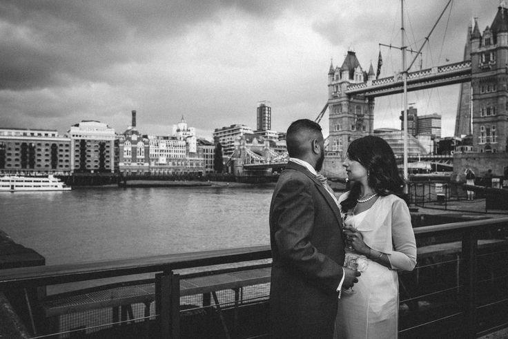 © SikhandDread Civil Wedding St Katherines Dock