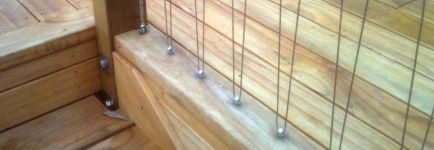 Anzor Eyelet for Stainless Steel Wire Balustrades and Handrails