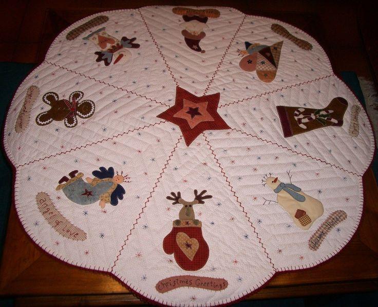 Luchi patchwork: Nuevo mantel de navidad