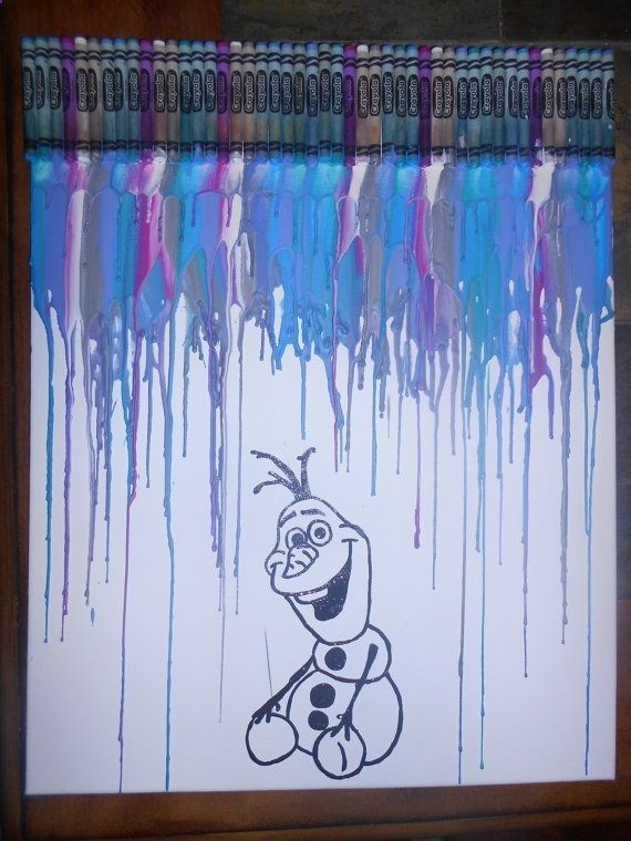 1000 Images About Melted Crayon Art On Pinterest