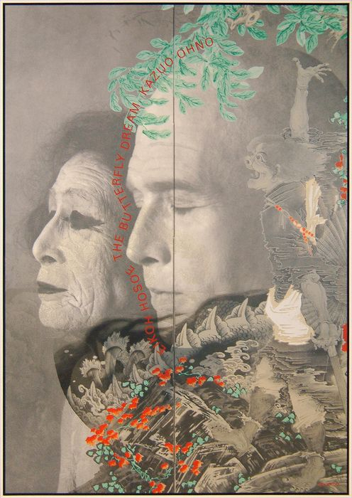 Japanese Poster: Butterfly Dream. Tadanori Yokoo. 2007 - Gurafiku: Japanese Graphic Design