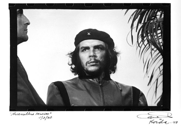 Che - Alberto Korda. Most famous portrait of all time