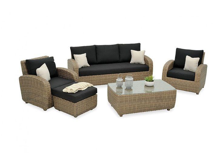 Vivian 5 Piece Lounge Setting | Super A-Mart