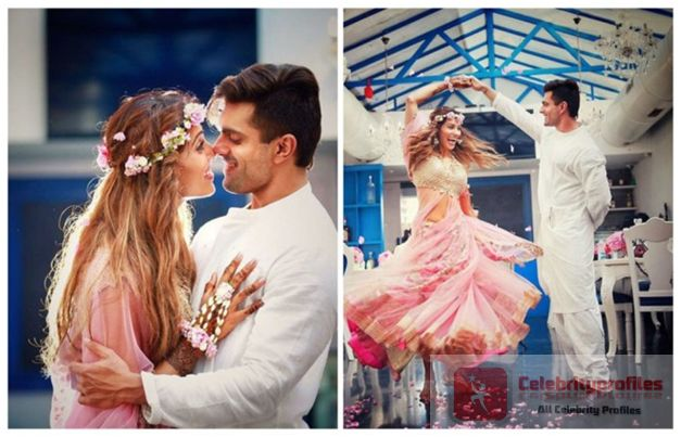 Bipasha And Karan Dancing On Their Mehendi Ceremony