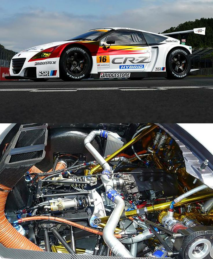 Mugen GT300 CR-Z With 2.8L, Twin Turbo V6