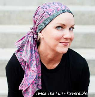 Scarves for Cancer Patients   Hats for Chemo therapy