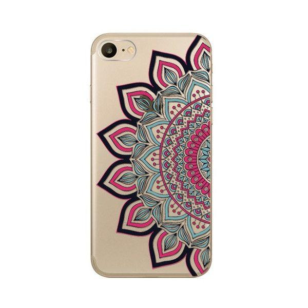 Desert Sun Mandala iPhone Case
