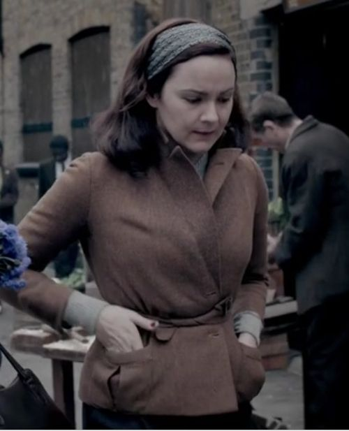 Did anyone else notice the cool styling of a blazer jacket Millie is wearing on The Bletchley Circle?