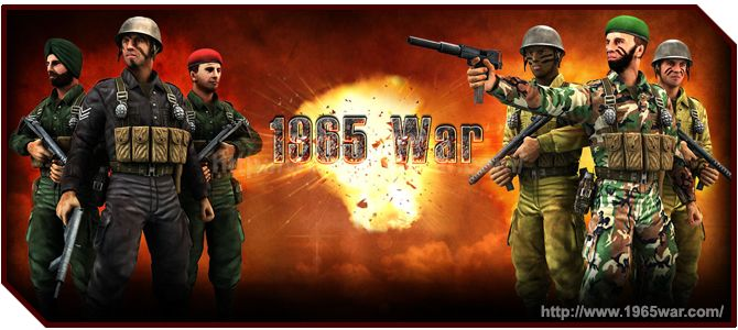 www.1965war.com - 1965-WAR Third Person Shooter Game tells the story of the second Kashmir war, which took place between India and Pakistan. The game has great graphics and rich storyline. Third person shooter games put you in direct control of the character you see on the screen in front of you.