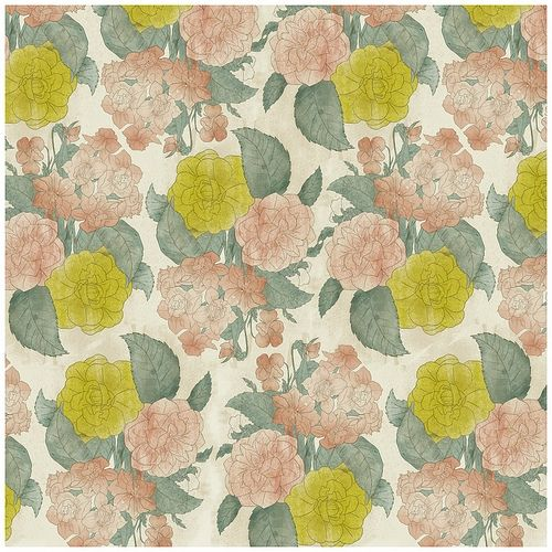 .: Floral Patterns, Inspiration, Wallpaper, Fabric, Color Palette, Design, Flower, Textile