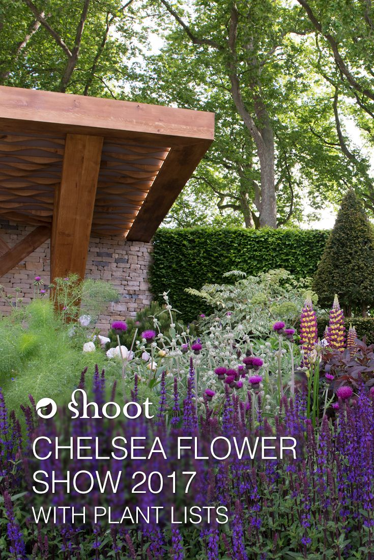 Hot off the press! Chelsea Flower Show 2017 gardens with plant lists.