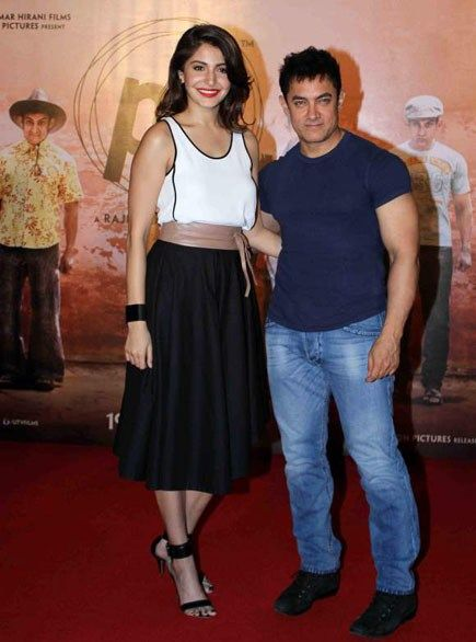 Aamir Khan and actress Anushka Sharma has been nominated as the new vegetarians celebrities of 2015 by People for the Ethical Treatment of Animals (PETA).
