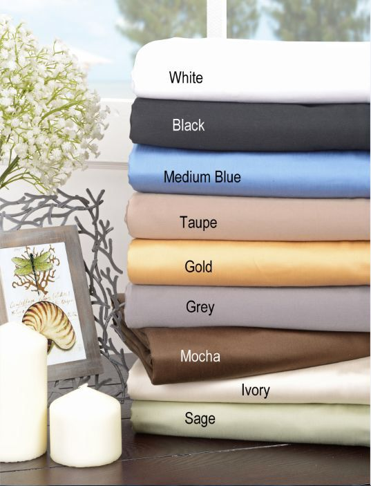 features fully elasticized fitted sheet oneply sateen finish