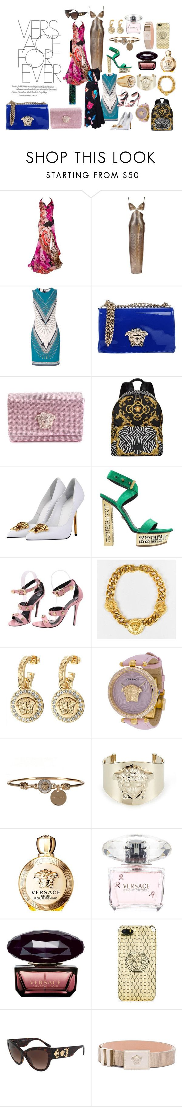 """""""Versace"""" by feliciamia on Polyvore featuring Versace and Versus"""