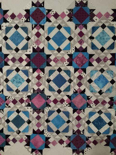 Becca's Crazy Projects: Quiltville Mystery Quilt 2015: Allietare! The Reveal