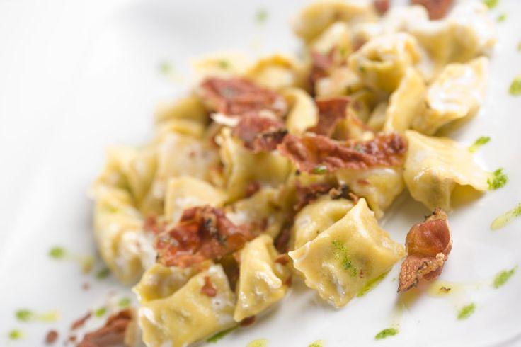 #gourmet #madeinitaly #food #ravioli #pancetta