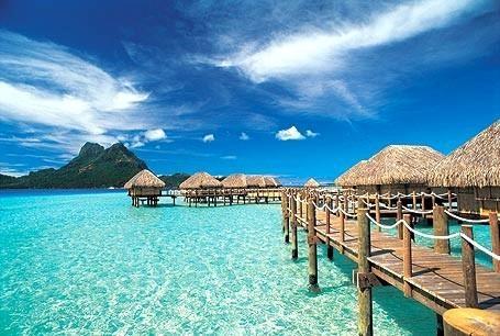Tahita, Bora Bora, Moorea, French Polynesian Islands