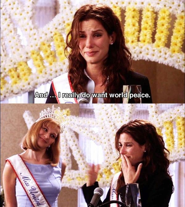 Miss Congeniality. I love the look on Cheryl's face in the last frame!