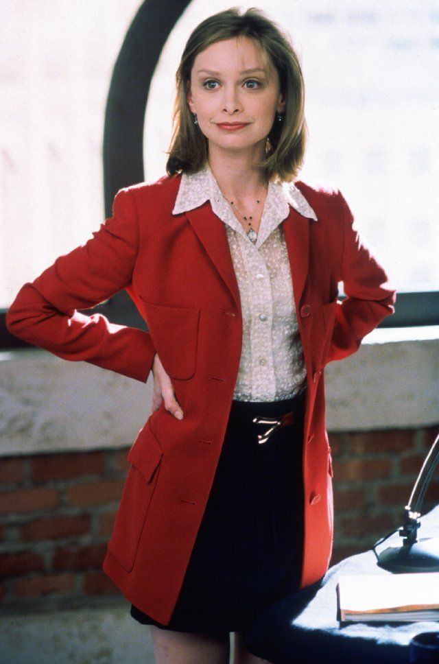 Ally McBeal was a GREAT show. It never took itself too seriously. Calista Flockhart in Ally McBeal. 90's!