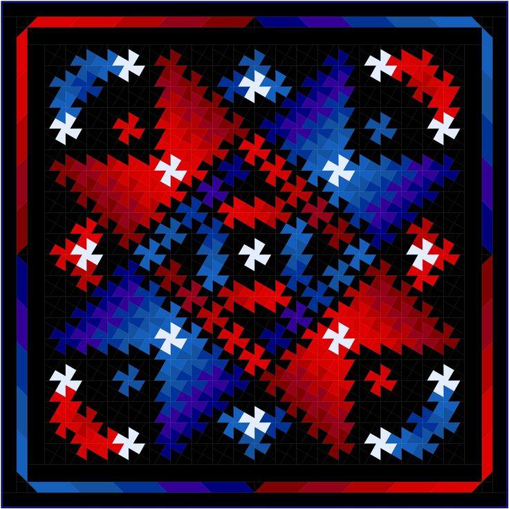 25+ best ideas about Twister Quilts on Pinterest Quilt patterns, Scrap quilt patterns and Half ...