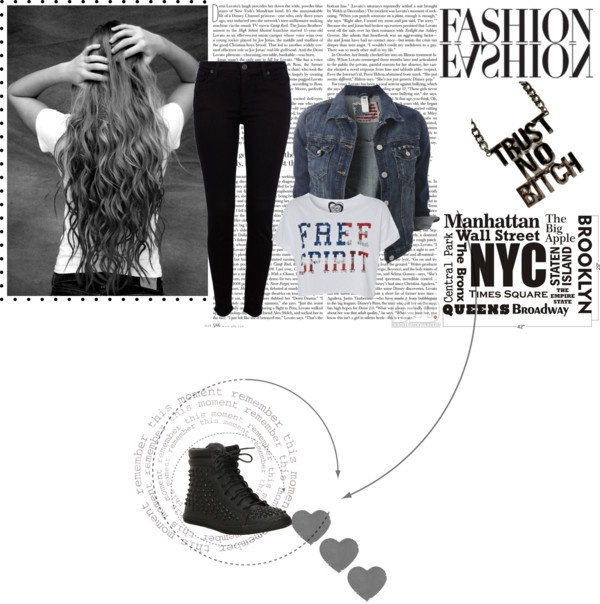"""""""Outfit for my book Loser but not to these boys"""" by emma-poole12 on Polyvore"""