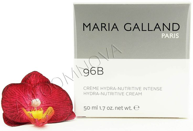 Maria Galland Hydra-Nutritive Cream 96B 50ml - Rich moisturising cream with long-term reserve effect for dry skin #MariGalland #skincare #dryskin #beauty #moisturiser