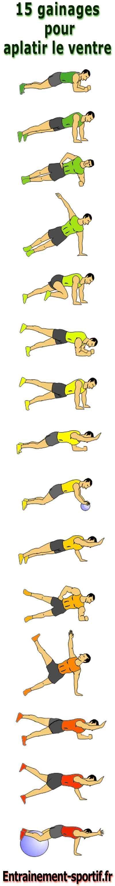 Ventre plat; Perdre du ventre rapidement et le muscler