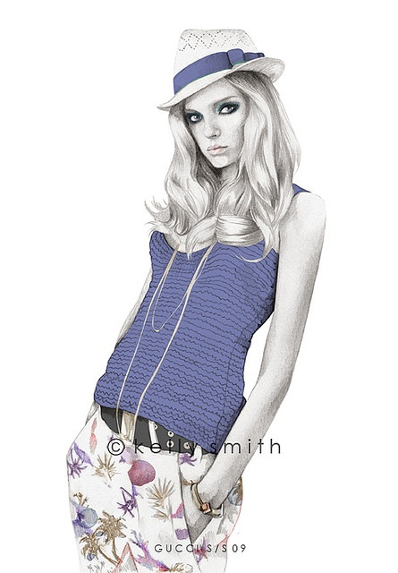 Kelly Smith Fashion Illustration
