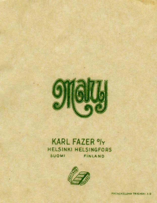 #Fazer Mary  Frenckellin arkisto