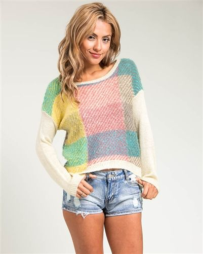 Multi-Coloured Knit Sweater