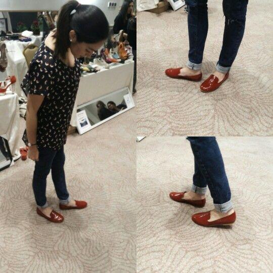 Loafers roja, milolishoes
