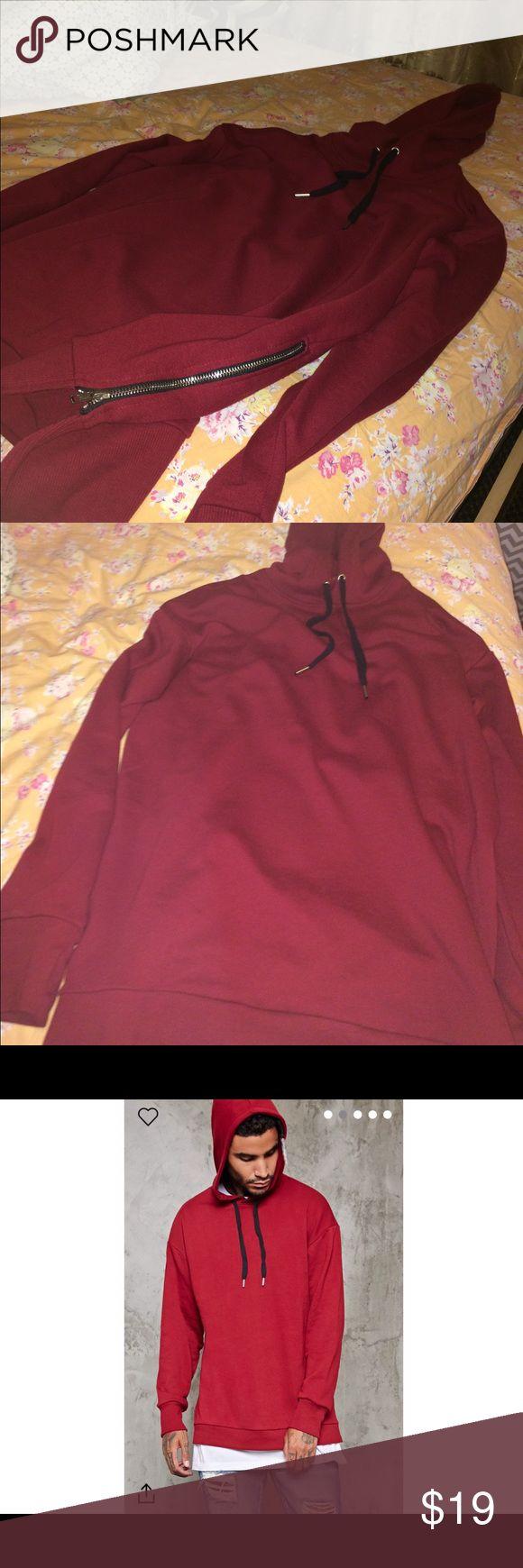 21 men long hoodie Great hoodie 21men Sweaters Crewneck