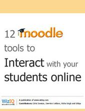12 Moodle tools to interact with your students online