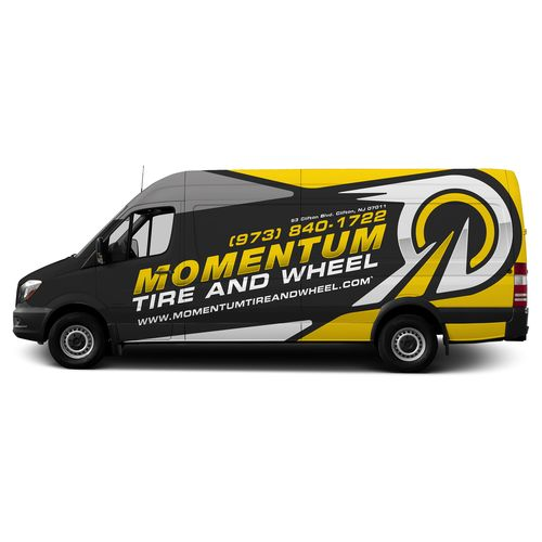 Vehicle wrap for momentum