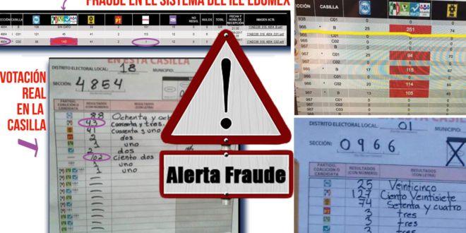 AL DESCUBIERTO: Aparecen las pruebas del FRAUDE ELECTORAL del PRI