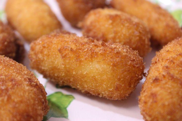Receitas Rápidas e Fáceis: Receita de Croquete de abóbora com carne-seca