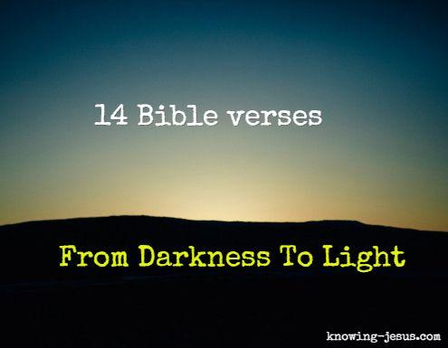 Light and Darkness (8:12-20) - Warren Wiersbe BE Bible ...