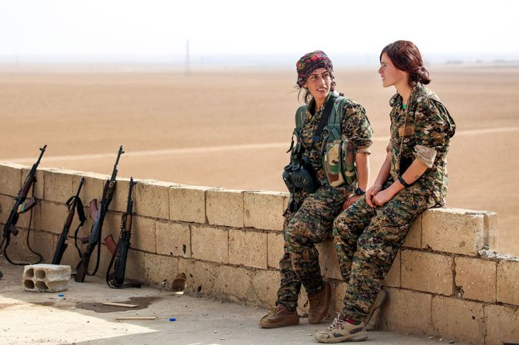 Kurdish women fighters inspire fear in ISIS militants due to 'shame' of being killed by a woman
