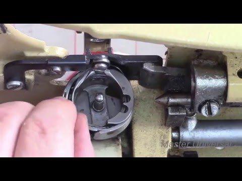 Как устранить обрыв верхней нити на Veritas 8014/43. Видео №127. - YouTube