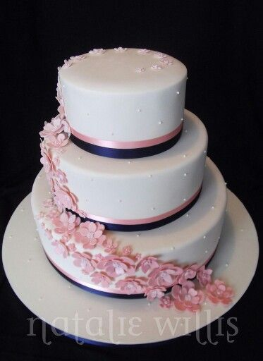 coral wedding cakes 25 best ideas about navy blush weddings on 12949