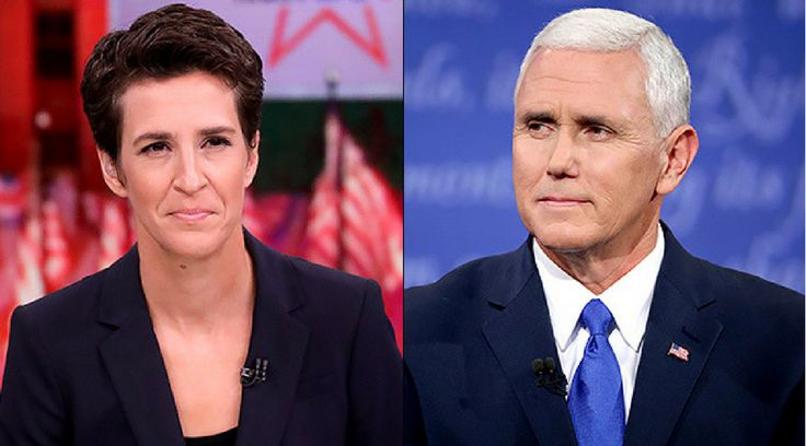 Rachel Maddow Exposes Mike Pence Law Against Gay Marriages, 18 Months in Prison and $10,000 Fine