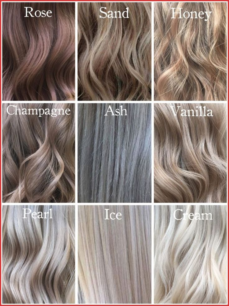 Vanilla Champagne Hair Color 125188 Blonde Shades Hairs Pinterest