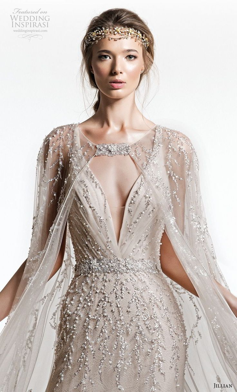 jillian+2019+bridal+sleeveless+with+strap+deep+v+neck+full+embellishment+elegant…