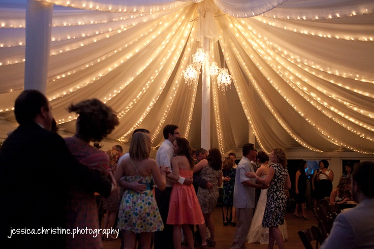 The PLantation House Austin TX Wedding Venue Tent With Lights And Chandeliers Please Contact