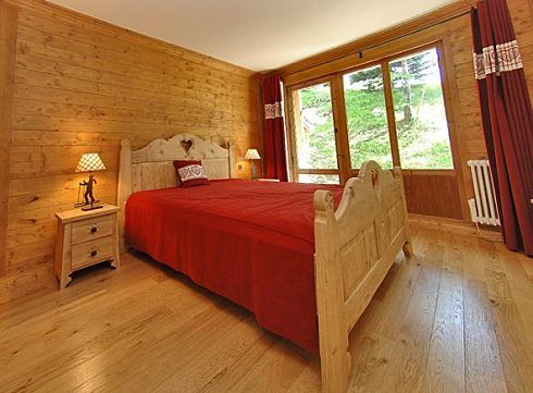 6 person, apartment, Val d'Isere - A 4395 double bedroom
