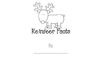 This is a cute book to use after you read a NonFiction book about reindeer or do a short lesson on real reindeer. (Also known as caribou)