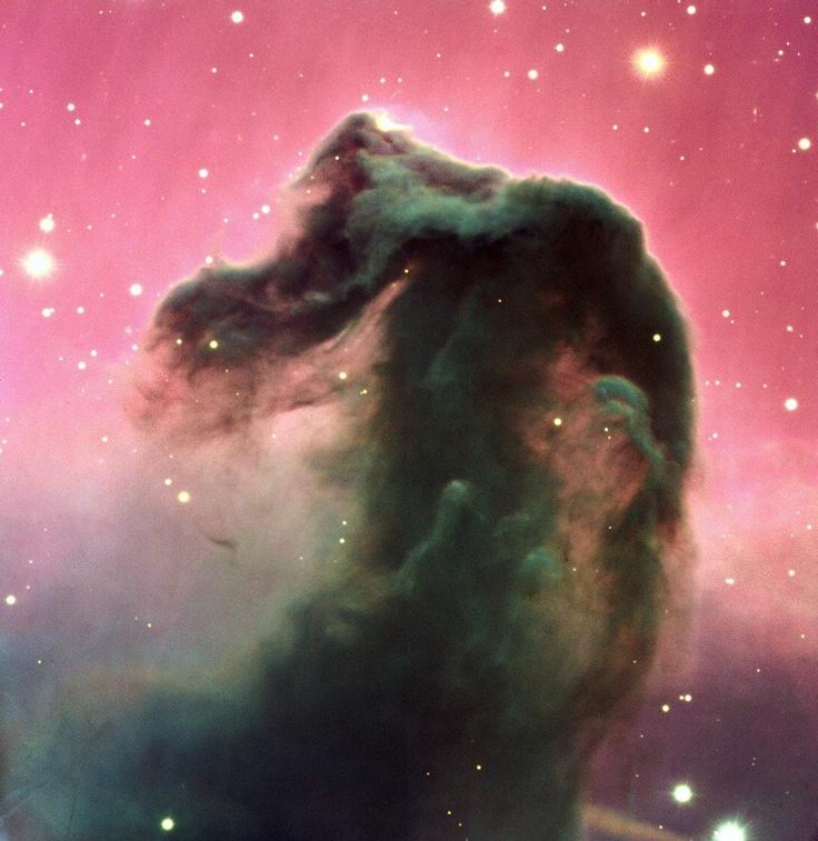 Mgławica Koński Łeb to tzw. ciemna mgławica znajdująca się w konstelacji Oriona