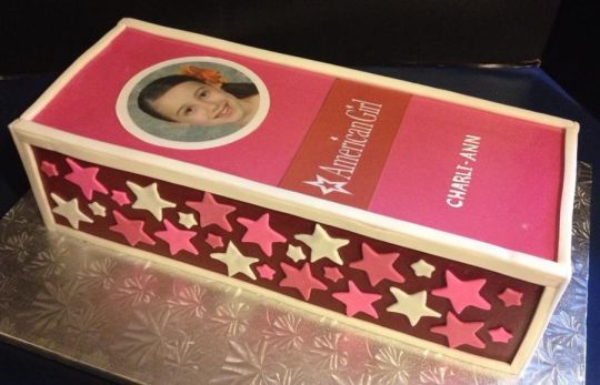 american girl cake - Google Search